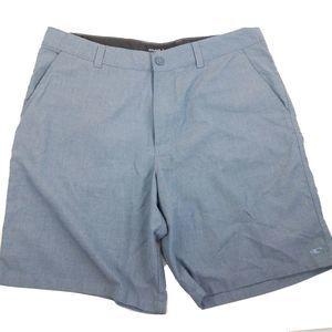 O'Neill Gray Blue Hybrid Shorts 38